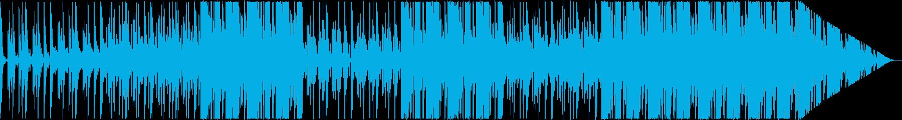 かわいく軽快なポップの再生済みの波形
