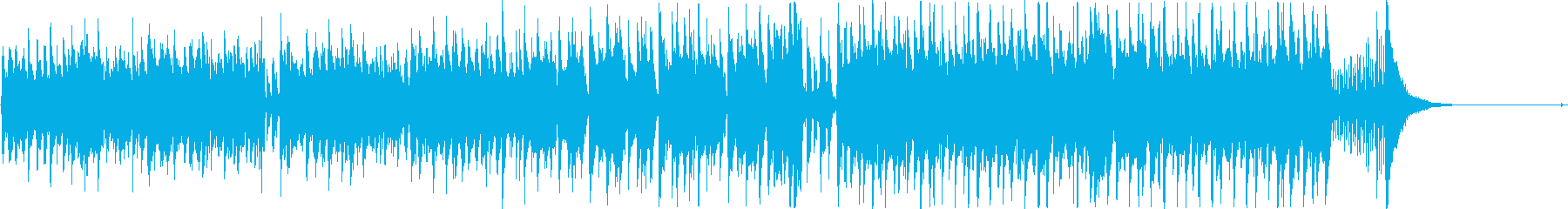 爽やかなアコギとシンセのインスト曲の再生済みの波形