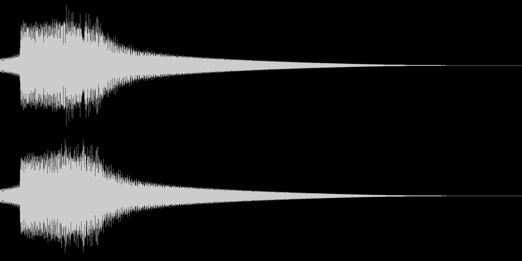 キュピン/レトロ/獲得の未再生の波形
