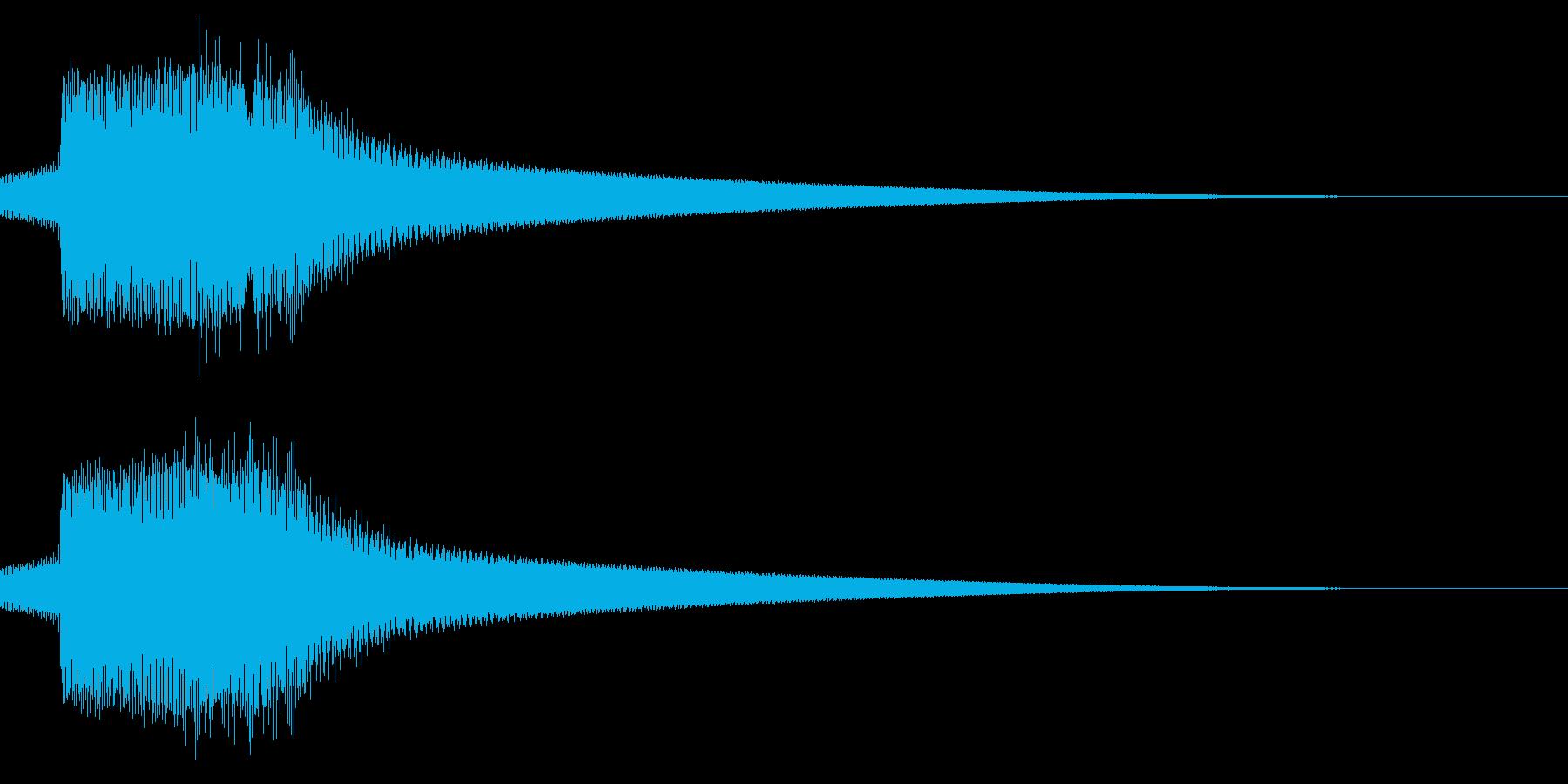 キュピン/レトロ/獲得の再生済みの波形