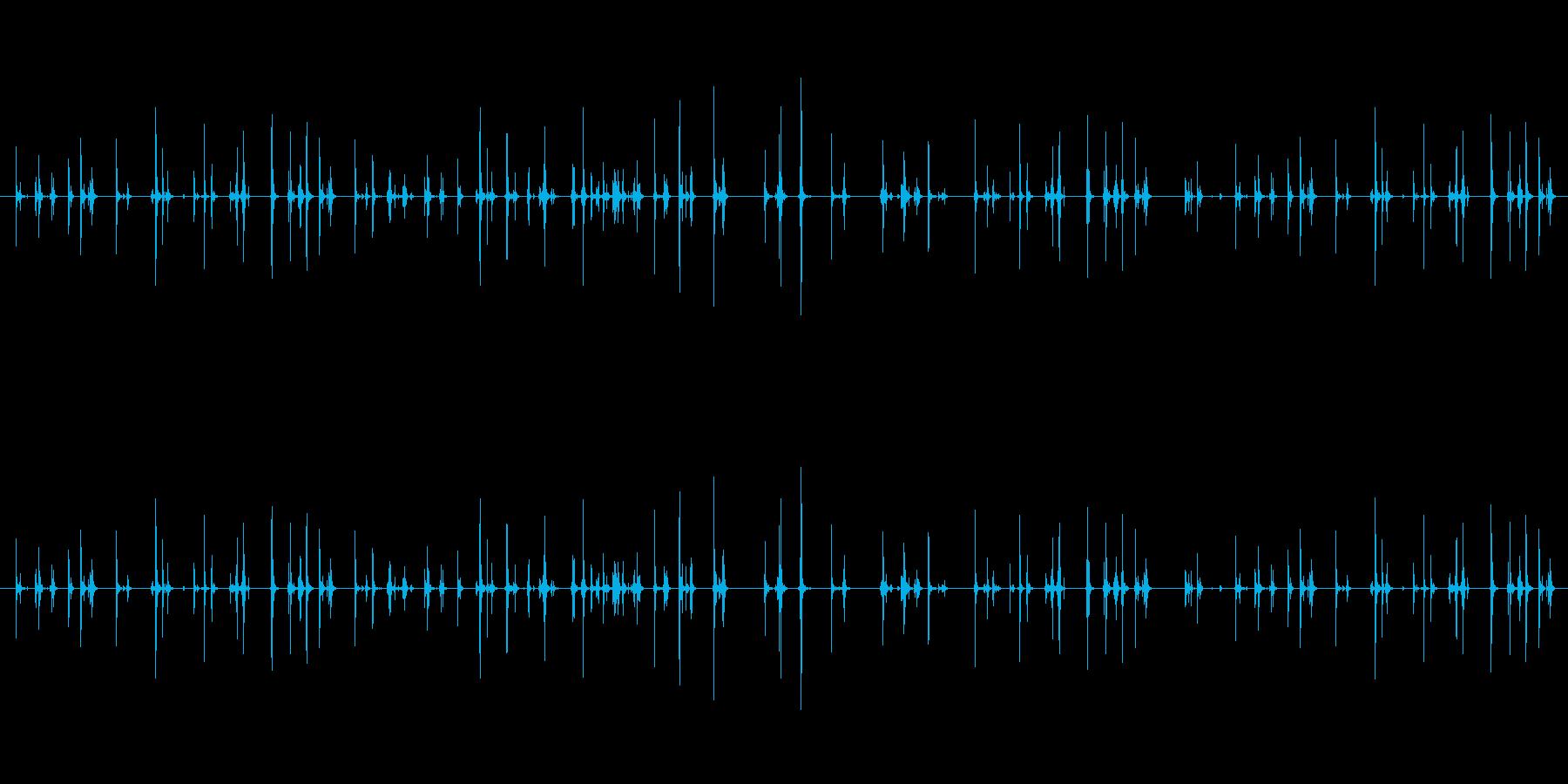 【PC キーボード01-2】の再生済みの波形