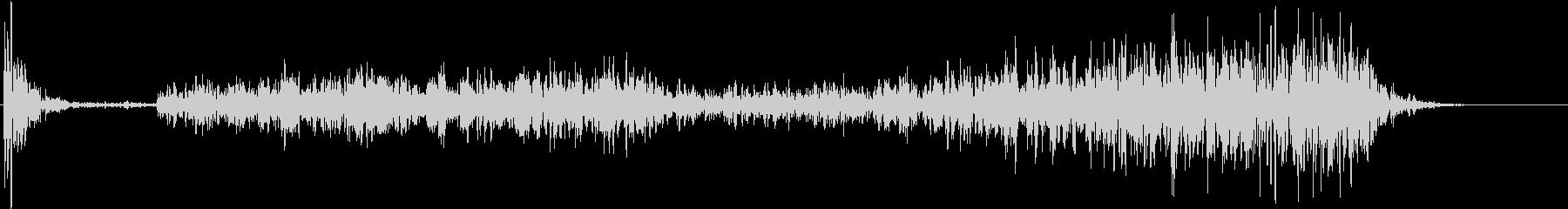 【生録音】テーブルを引っ掻く音 1の未再生の波形