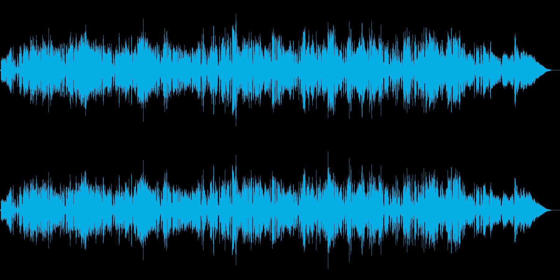 アコーディオンで奏でる郷愁のワルツの再生済みの波形