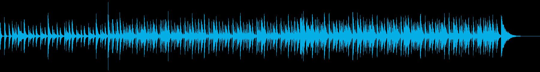 60秒子供、ペットなどカワイイ系BGM1の再生済みの波形