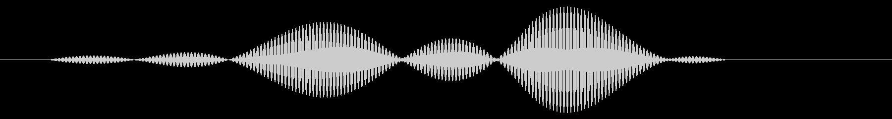 カーソル移動音8の未再生の波形