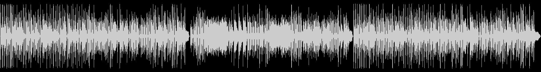 ヘンデルの水上の音楽をピアノ演奏での未再生の波形