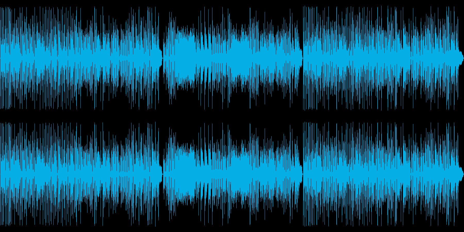 ヘンデルの水上の音楽をピアノ演奏での再生済みの波形