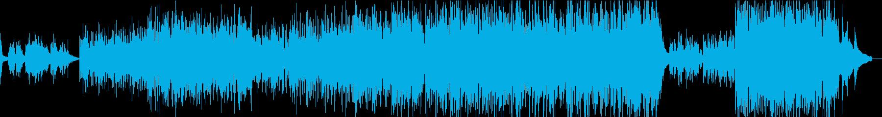 初夏・新緑 躍動感ある爽やかピアノBGMの再生済みの波形