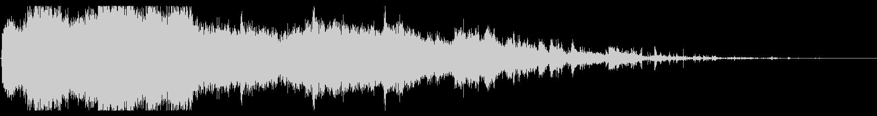 DEBRISによる大規模なクラッシ...の未再生の波形