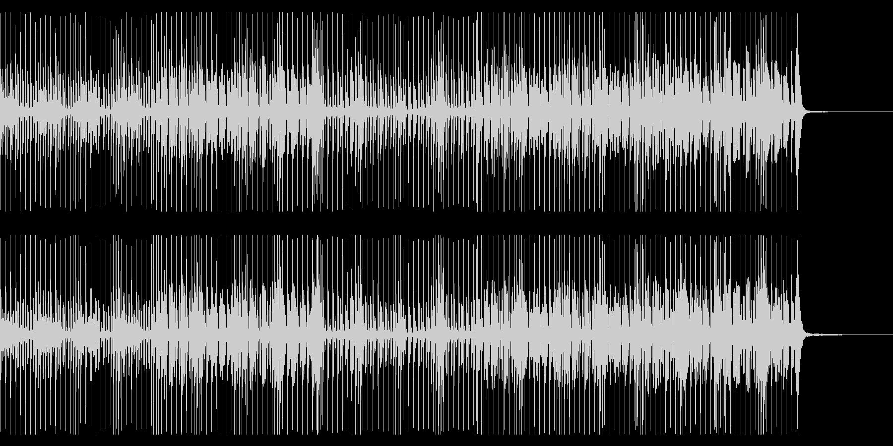 エレクトロ行進曲の未再生の波形