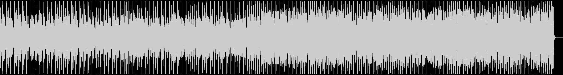 ジングルベル南国風BGMメロ&ドラム抜きの未再生の波形