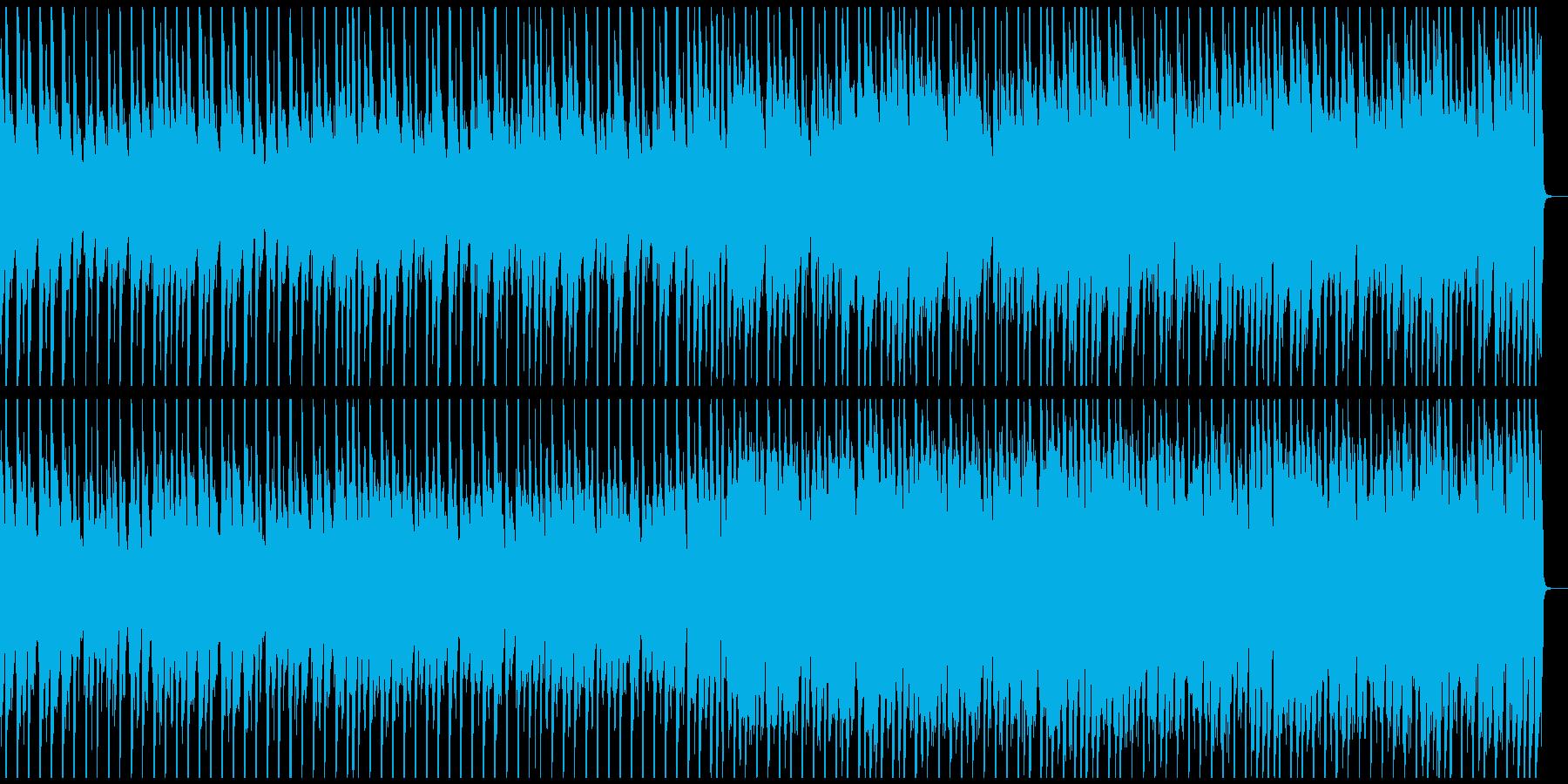 ジングルベル南国風BGMメロ&ドラム抜きの再生済みの波形