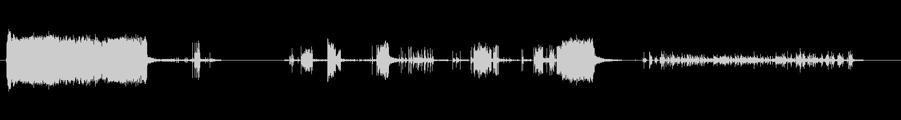 さまざまな電気アークと火花の未再生の波形