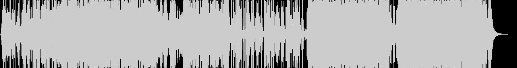 神秘と幻想のエレクトリックなBGMの未再生の波形