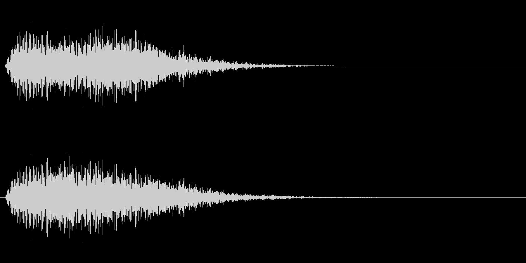 【風魔法】ビュウゥゥ〜 規模(大)短めの未再生の波形