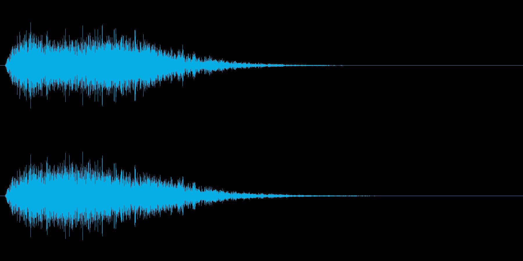 【風魔法】ビュウゥゥ〜 規模(大)短めの再生済みの波形