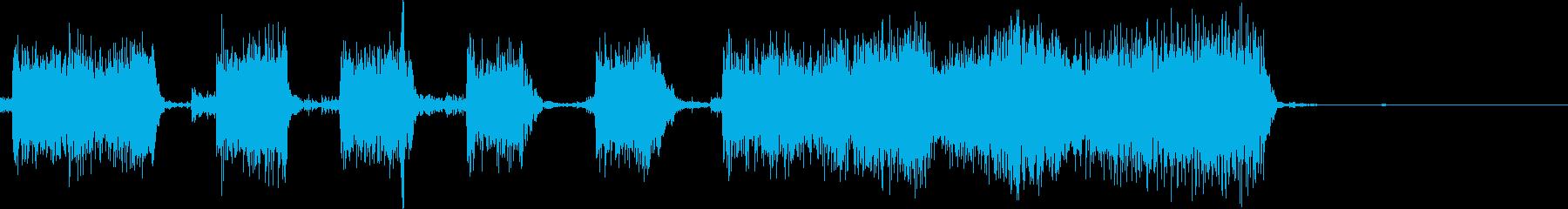 ★ジングル★70'Sロックギターリフの再生済みの波形