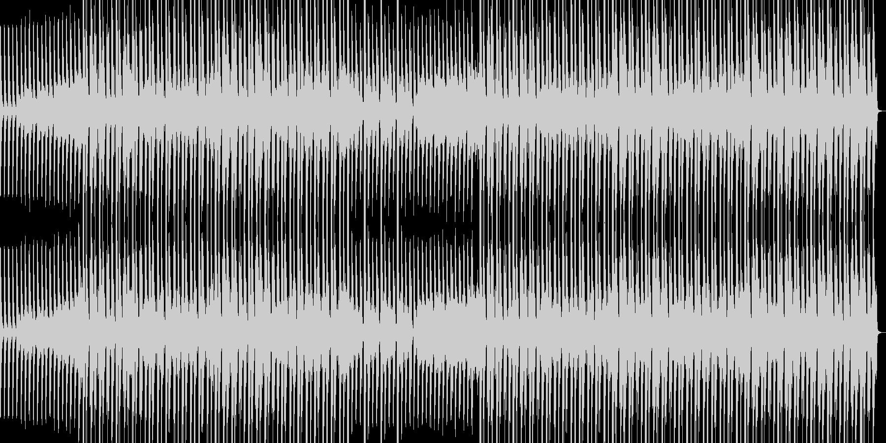 ミディアムテンポな和風ポップスの未再生の波形