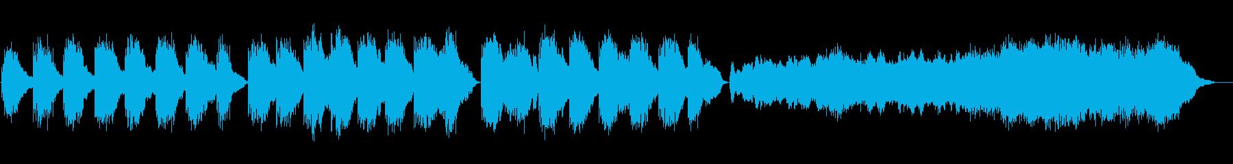 劇的な死を思わせるような音楽の再生済みの波形