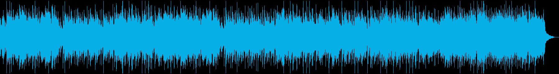 ゆったり和楽器ポップの再生済みの波形