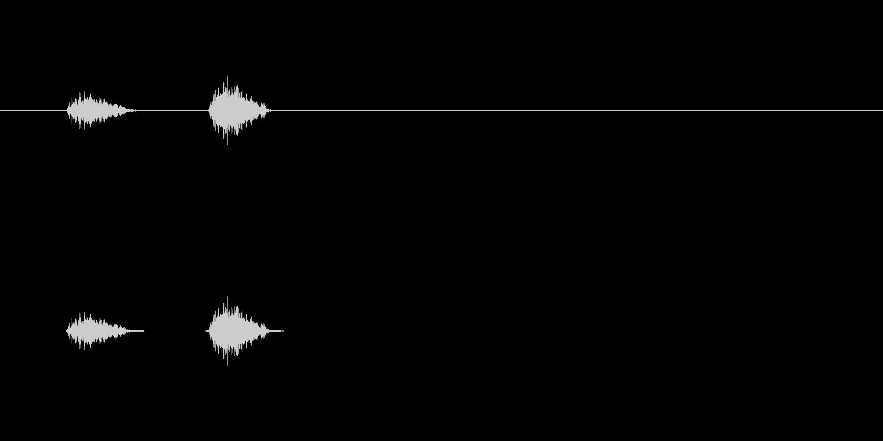 【鉛筆01-08(チェック)】の未再生の波形