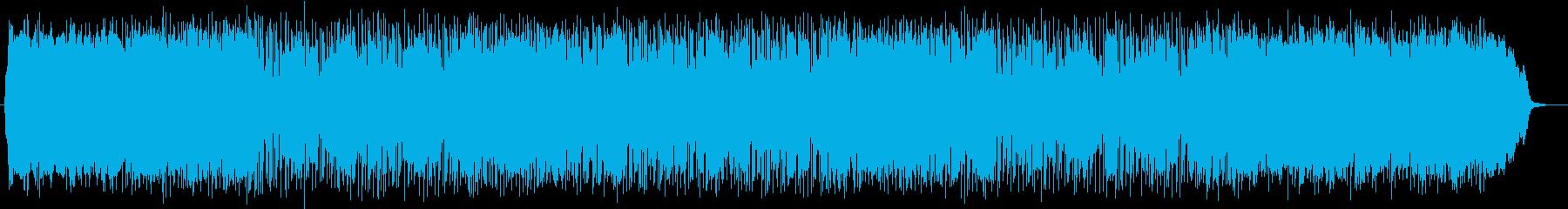 爽やかで明るい軽快なポップサウンドの再生済みの波形
