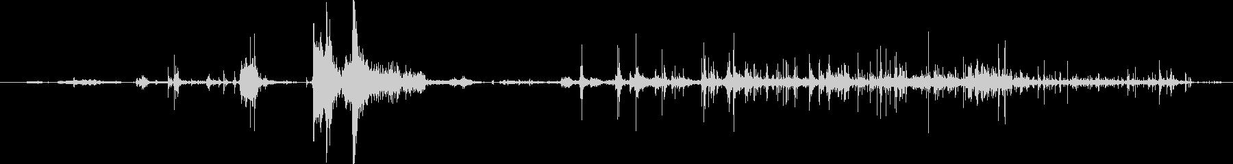 紙のパッド:シングルシートとクラム...の未再生の波形