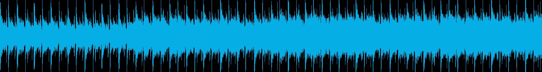 ピアノが幻想的で森の中の様な優しいBGMの再生済みの波形