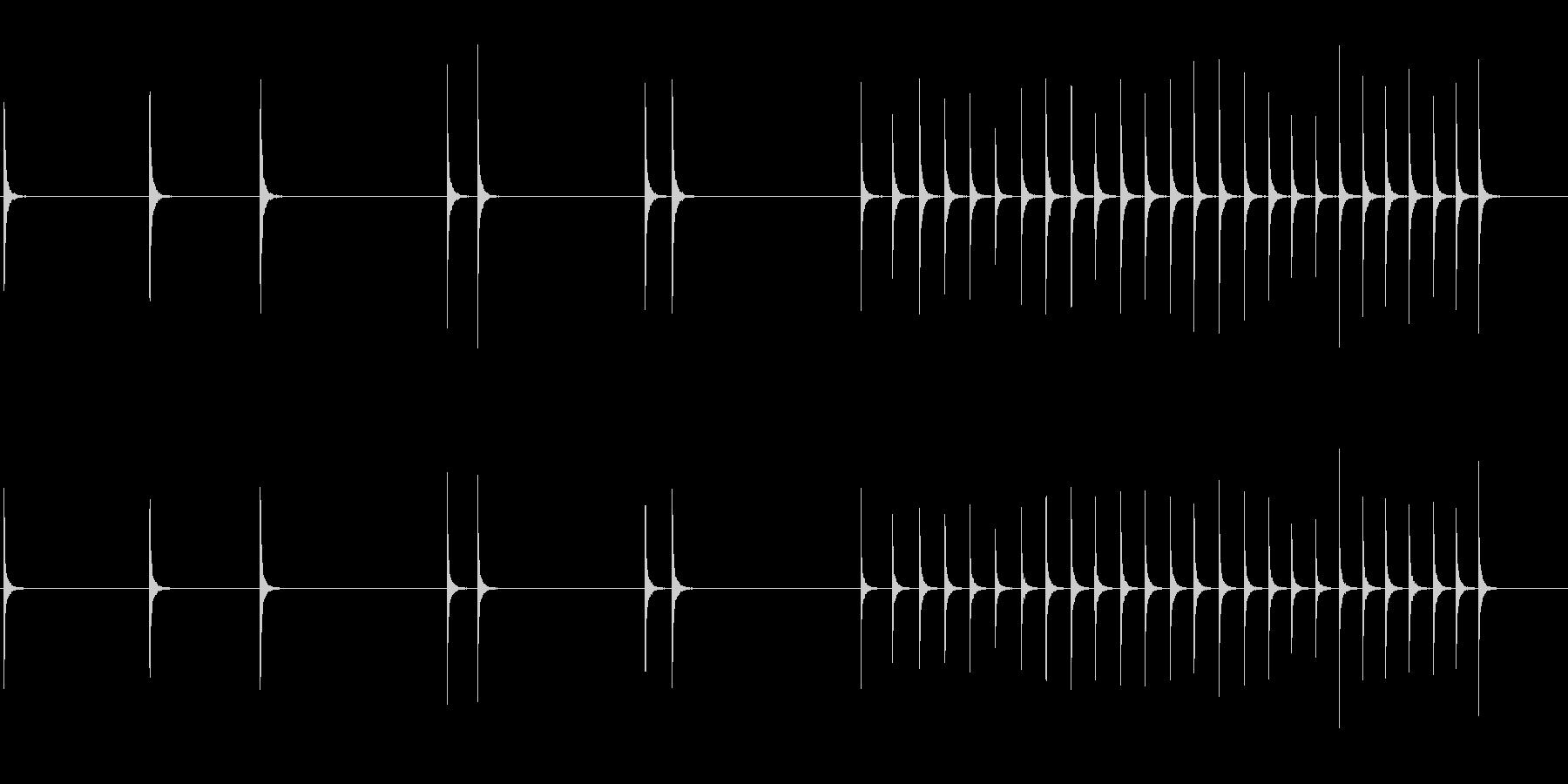 ハンマー、スモール、メタル、アンビ...の未再生の波形