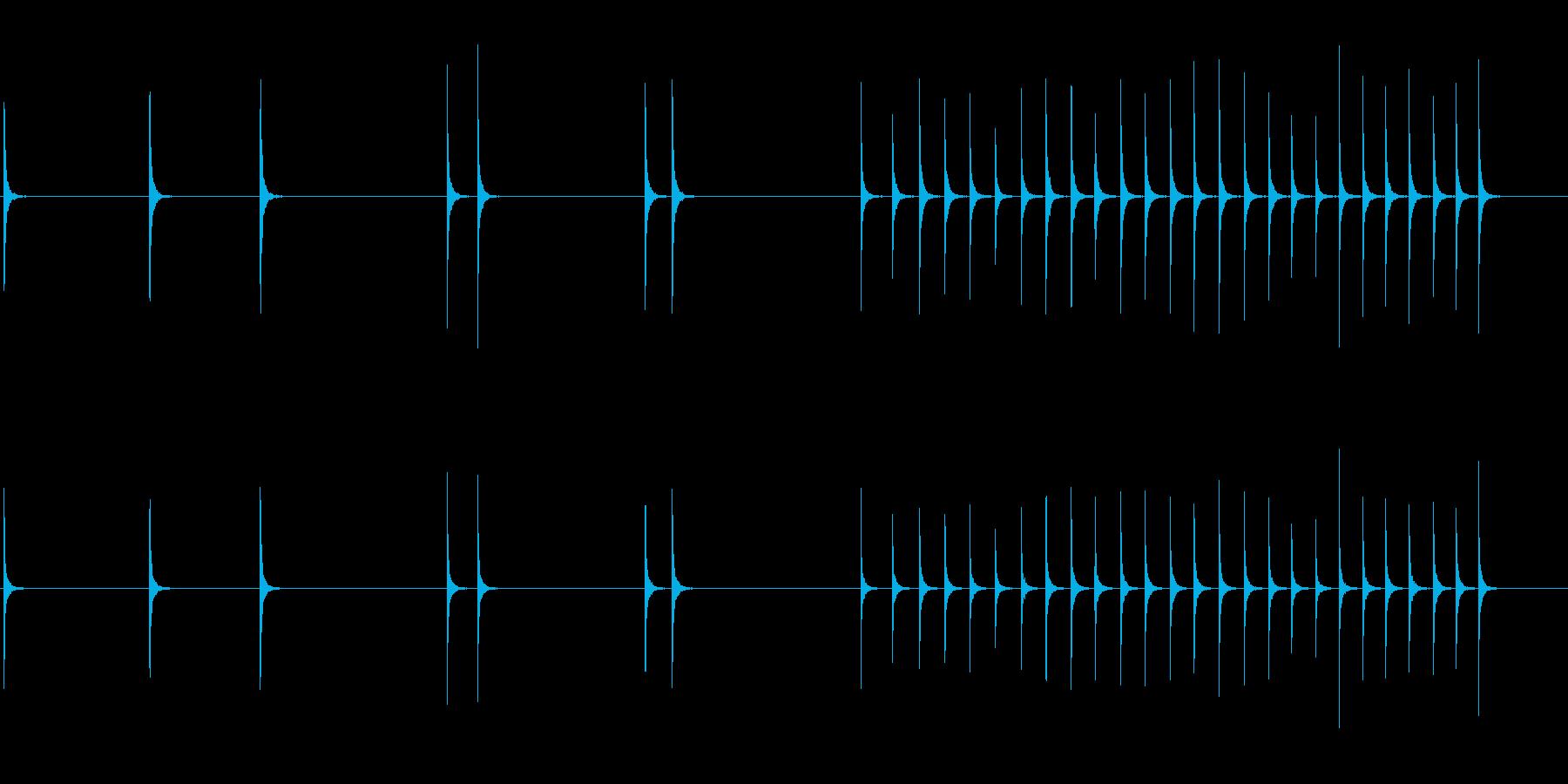ハンマー、スモール、メタル、アンビ...の再生済みの波形