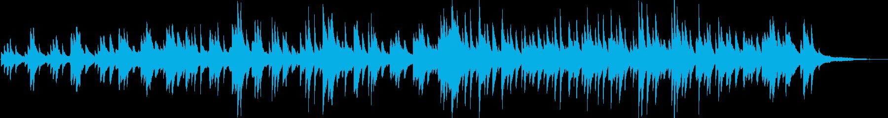 優しくゆったりとした 癒しのピアノソロの再生済みの波形