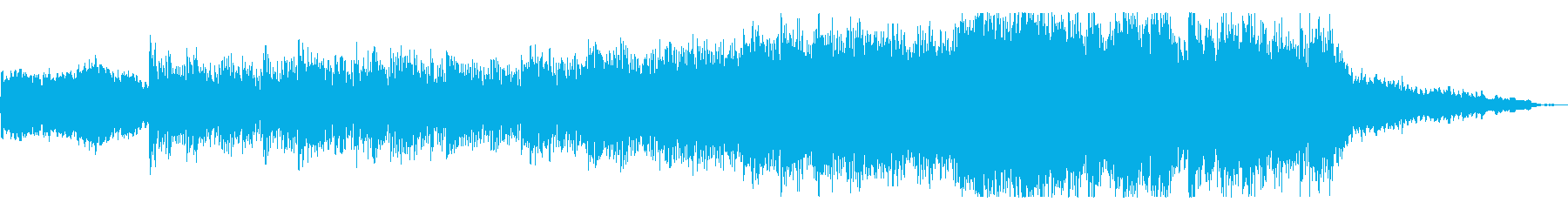 ファンタジー映画に最適なオーケストラ曲の再生済みの波形