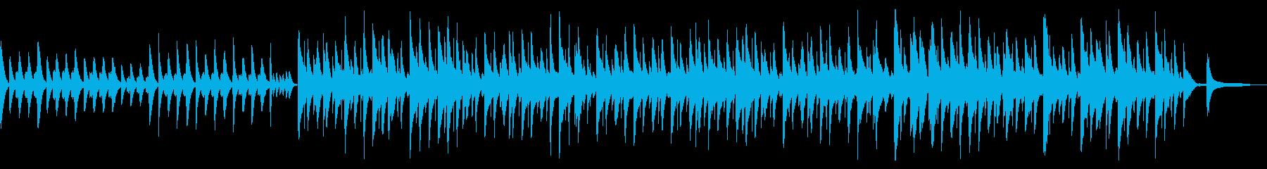 かわいくてオシャレなシャッフルのBGMの再生済みの波形