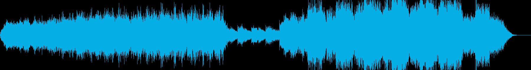 幻想的BGMの再生済みの波形