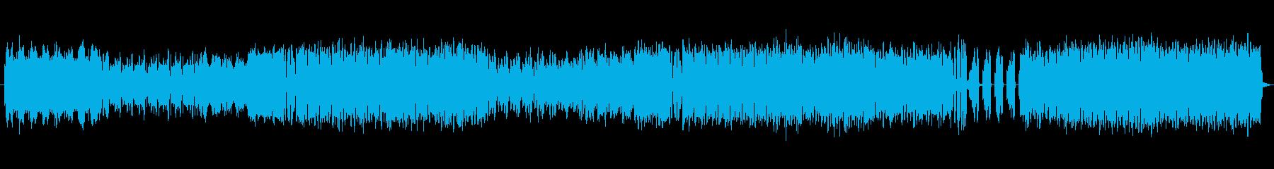 明るくポップな雰囲気のエレクトロサウンドの再生済みの波形