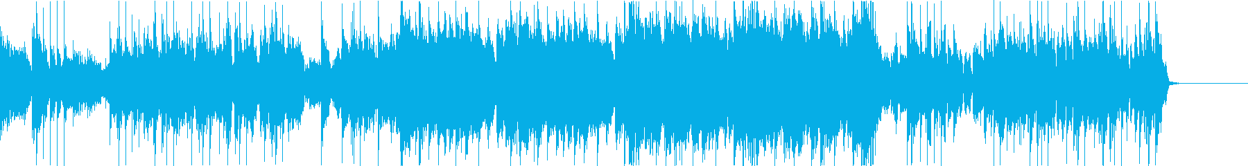 ジャジー:変拍子:ラウドロック:プログレの再生済みの波形