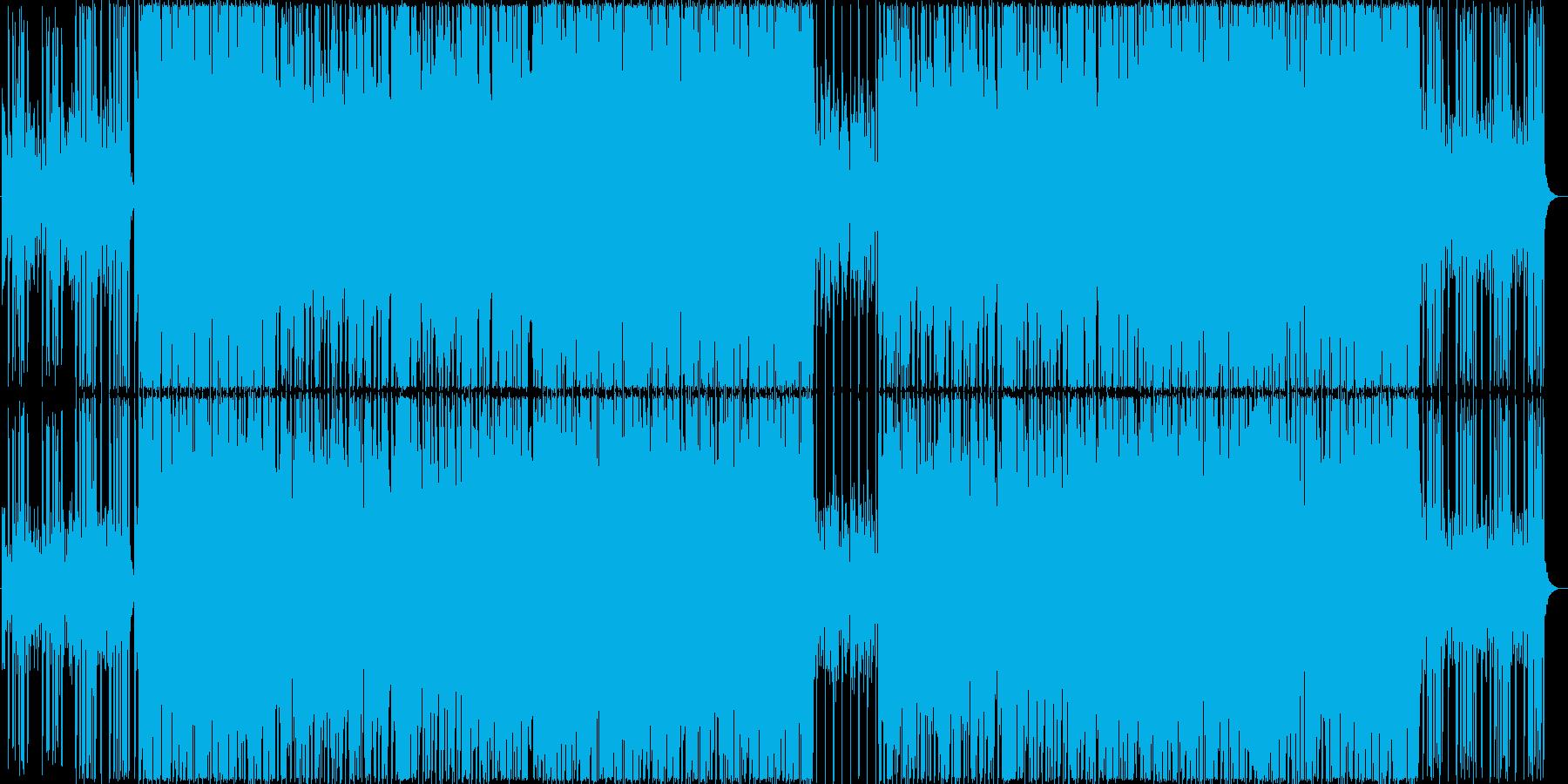 感動的、前向き、ストリングス&口笛ポップの再生済みの波形