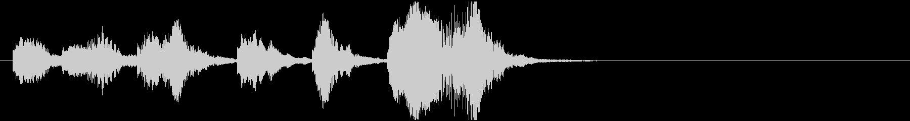 のほほんジングル001_コミカル-3の未再生の波形