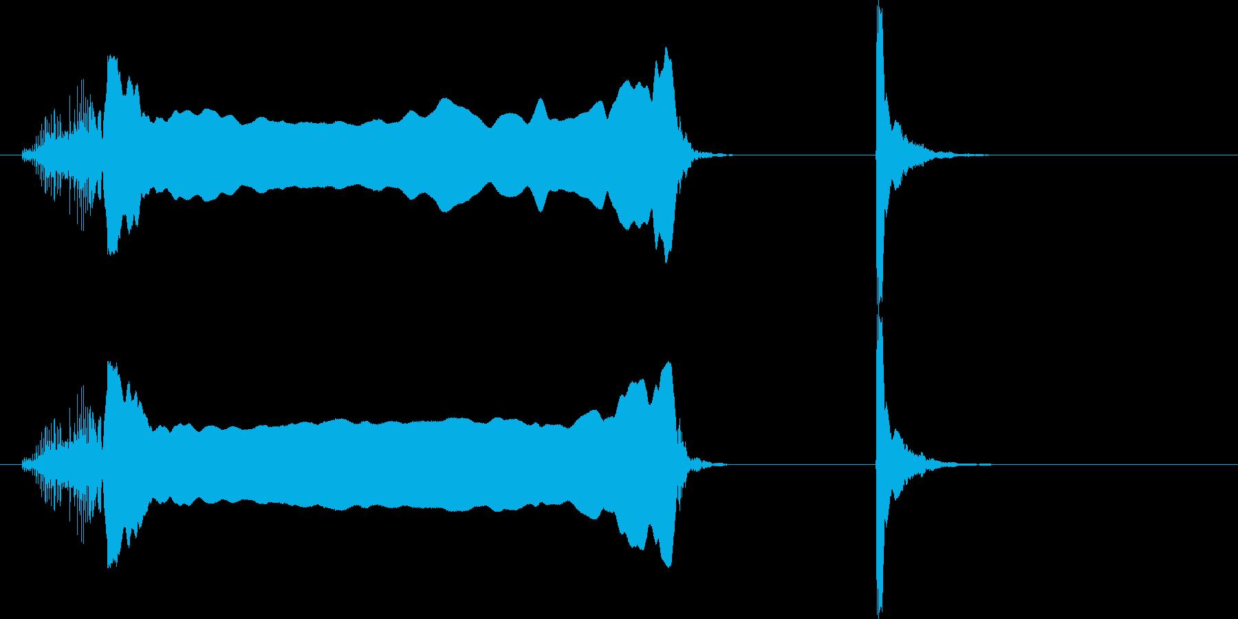 「イヨーポン」の再生済みの波形