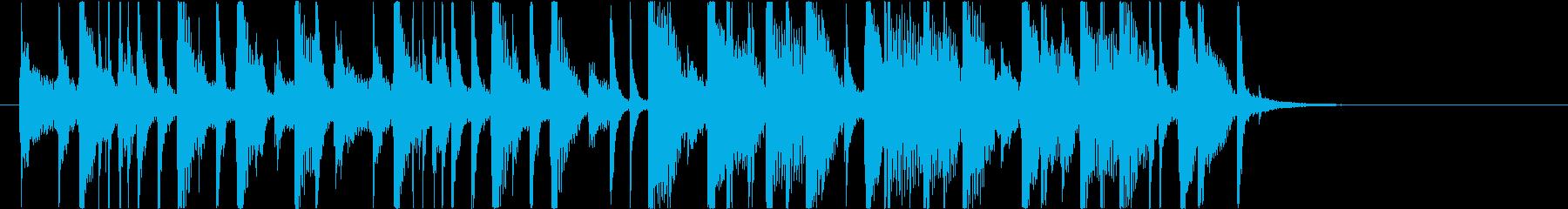 【南国効果音】セクシーレディーの再生済みの波形