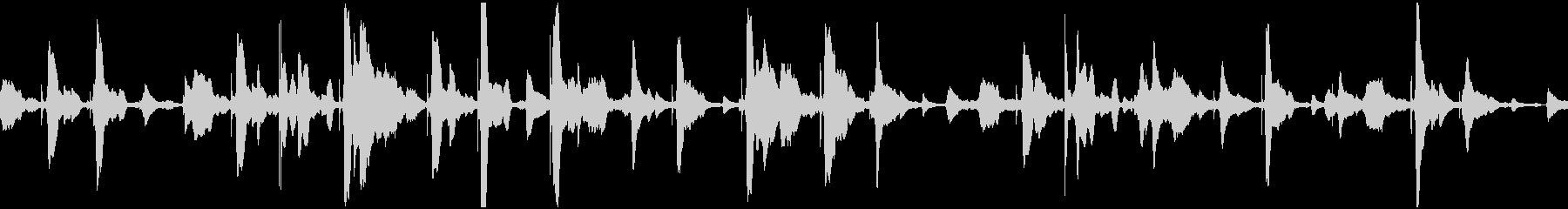 不思議系空間(ループ):ゆらゆら、浮遊の未再生の波形