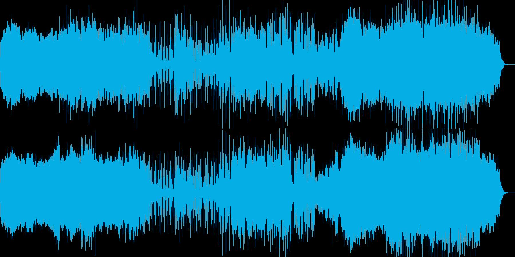 アンビエントポップー羅針盤の再生済みの波形