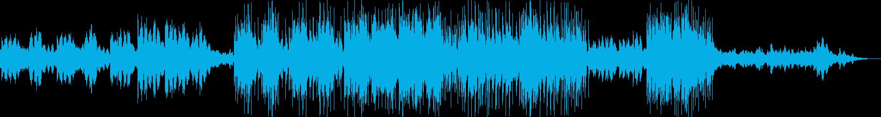 幻想的な雰囲気のノスタルジックな曲の再生済みの波形