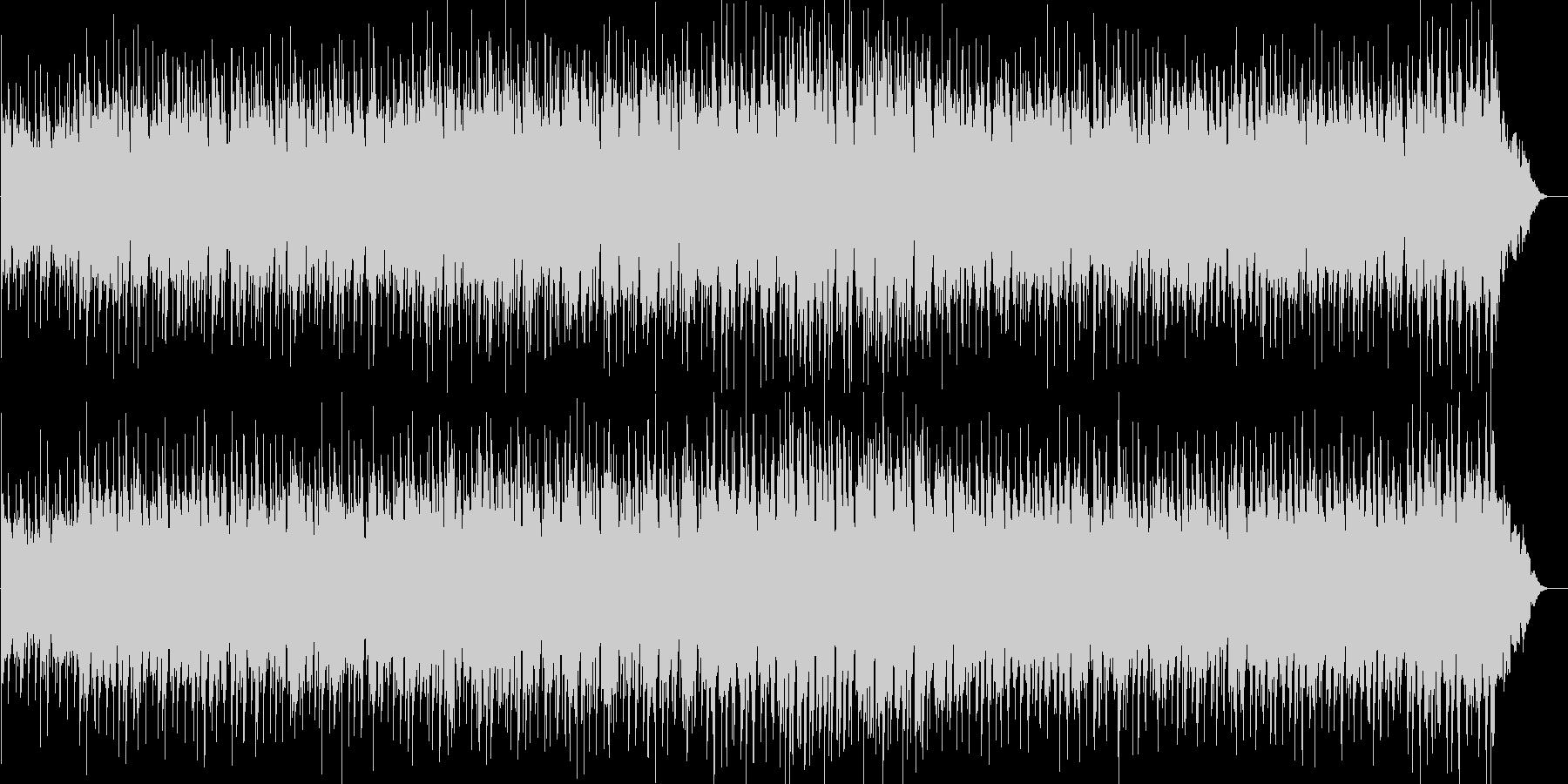 不安なシーンのBGMの未再生の波形