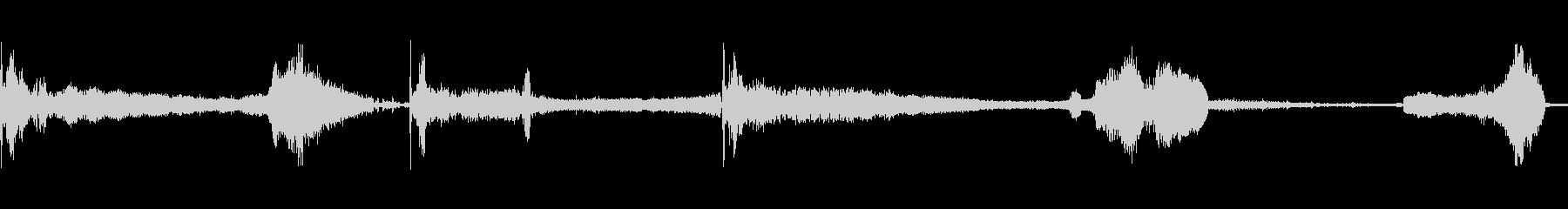 車シボレーノヴァドライブスキッドストップの未再生の波形