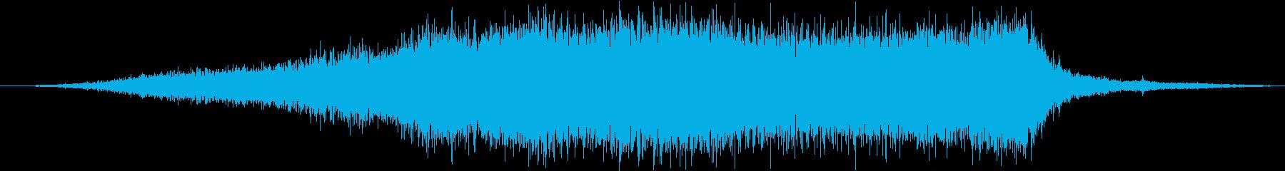 スクールバス:内線:低速で左にアプ...の再生済みの波形