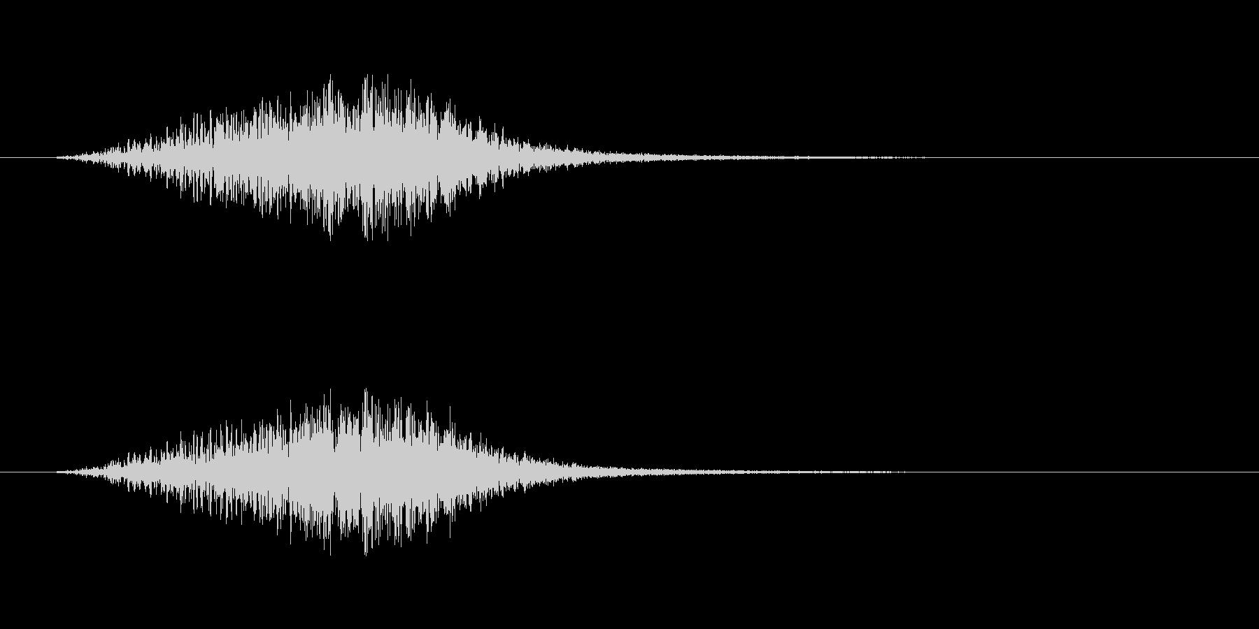 【ショートブリッジ16-1】の未再生の波形