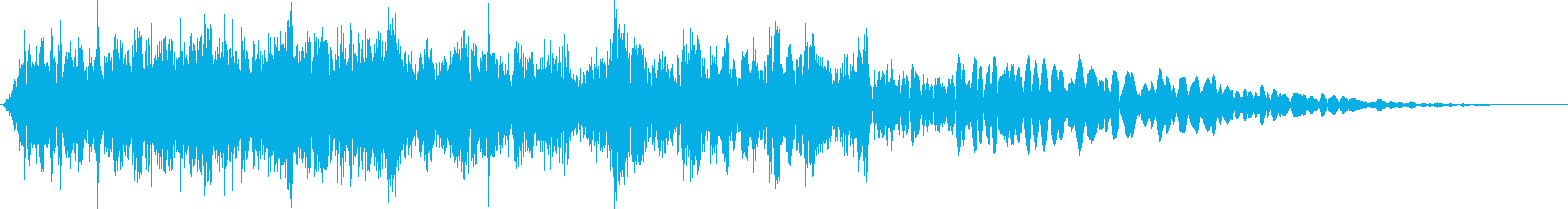 キラキラ(流れ星など)の再生済みの波形