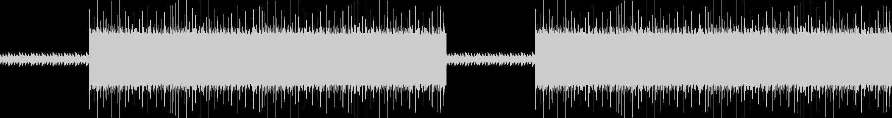 不思議なダークトラップヒップホップBGMの未再生の波形