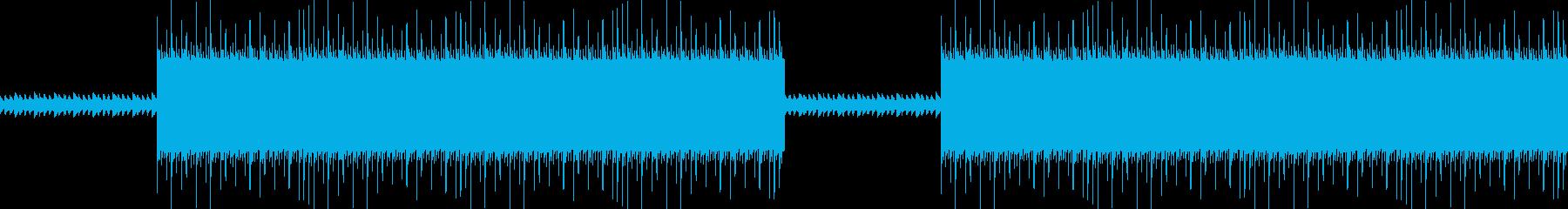 不思議なダークトラップヒップホップBGMの再生済みの波形